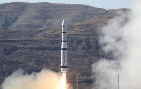 چهارمین پرتاب موشک لانگ مارچ 6 چین