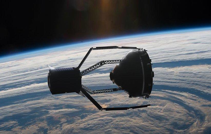 یدککش فضایی کلیر اسپیس برای پاکسازی زبالههای فضایی