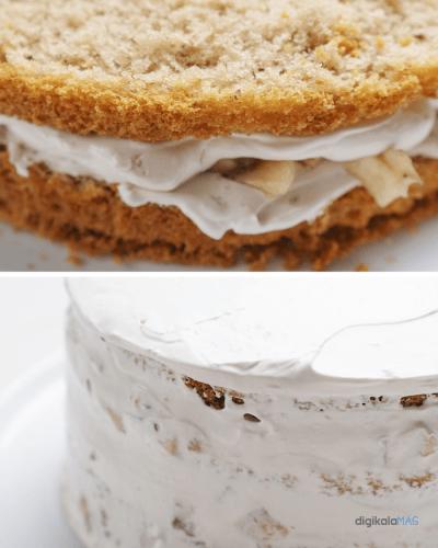 طرز تهیه کیک با کارامل و قهوه