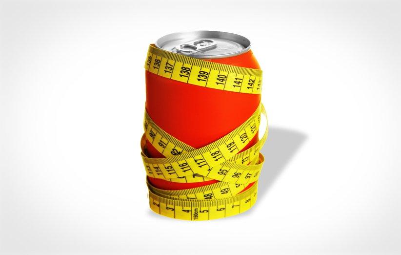تاثیر نوشابهی رژیمی بر کاهش وزن