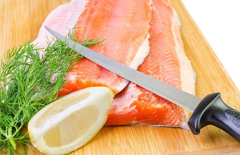 چاقوی فیله یکی از انواع چاقوهای آشپزخانه است