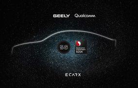 اینترنت 5G خودروهای جیلی با همکاری کوالکام
