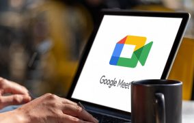 گوگل میت در لپتاپ