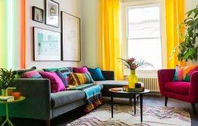 5 قدم برای داشتن یک خانهی شاد و رنگارنگ