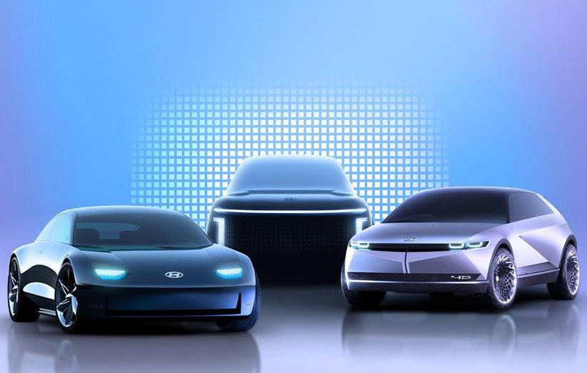 طرح مفهومی خودروهای الکتریکی هیوندای برای سال 2022