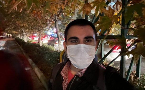نمونه عکس دوربین سلفی آیفون 12 در شب