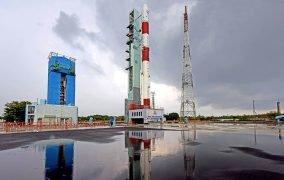 موشک پولار هند در سکوی پرتاب