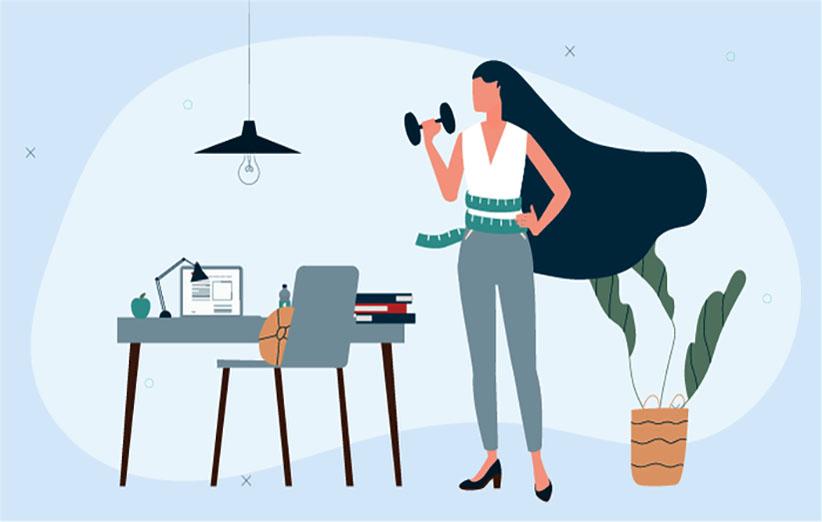 کاهش وزن در محل کار