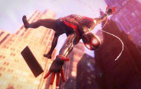لودینگ بازی Spider Man Miles Morales روی PS5