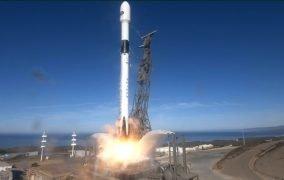 پرتاب ماهوارهی سنتینل-6 با موشک فالکون 9
