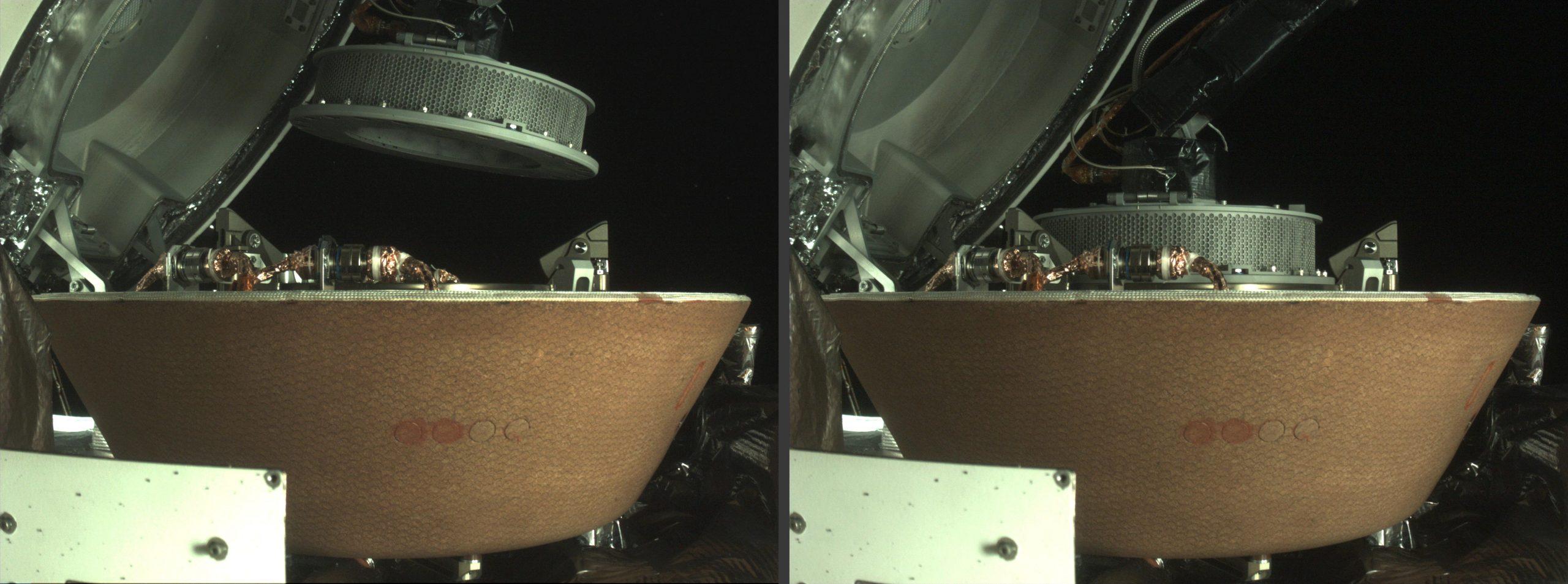 ذخیرهسازی موفق نمونهی سیارک بنو