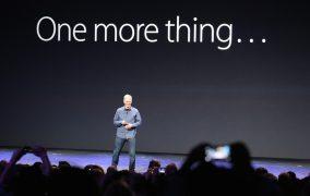 رویداد One More Thing اپل