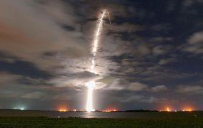 پرتاب شماره 100 موشک فالکون 9 اسپیسایکس و قرار دادن سری دیگری از ماهوارههای استارلینک در مدار
