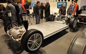 پلتفرم باتری خودروی تسلا مدل S
