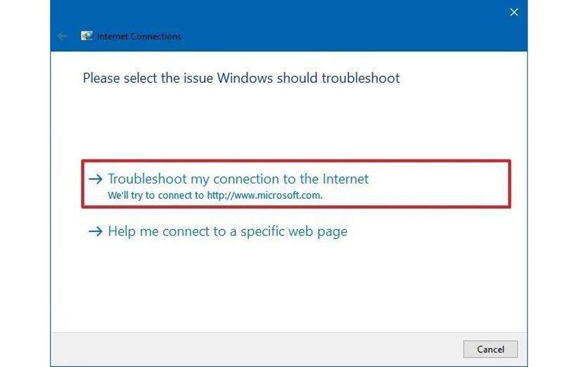 قطعی اینترنت بعد از آپدیت ویندوز 10