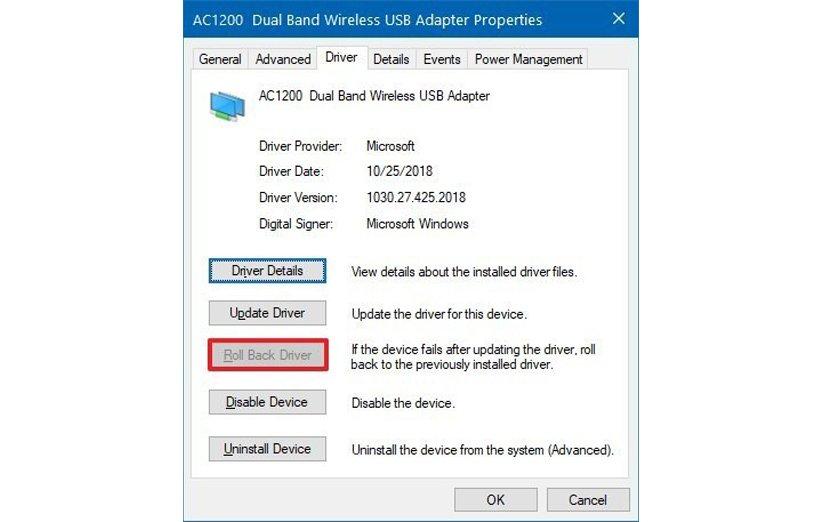آپدیت درایور آداپتور شبکه در ویندوز 10