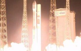 پرتاب موشک وگا VV16 آریاناسپیس