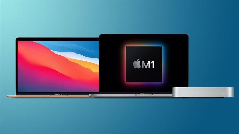 مکهای دارای پردازنده اپل M1