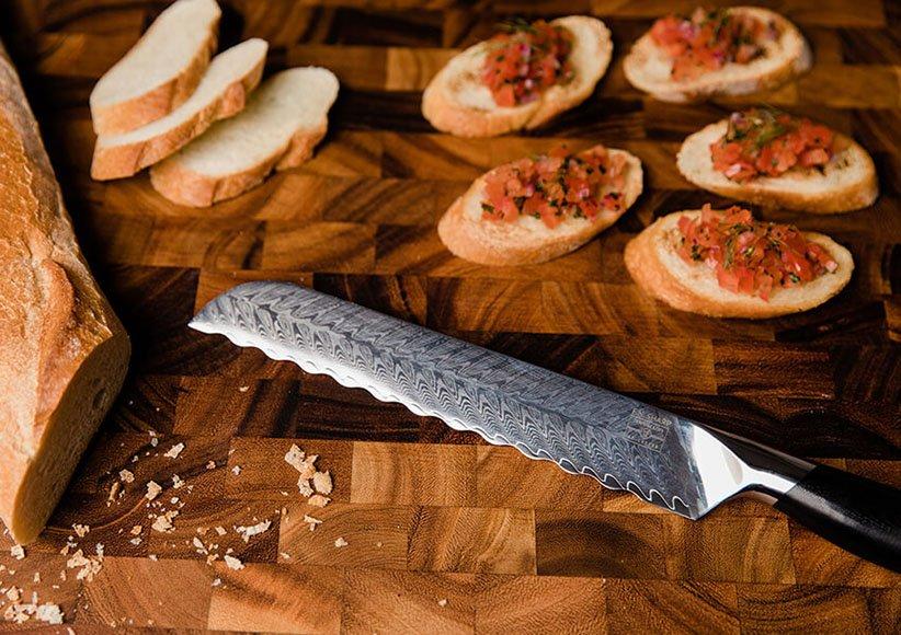 چاقوی مخصوص نان یکی از انواع چاقوهای آشپزخانه است