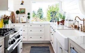 تمیز کردن کابینت آشپزخانه