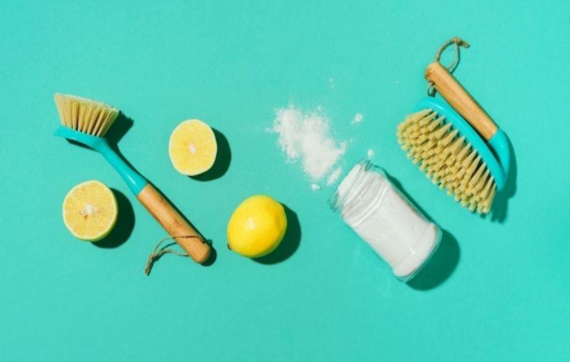 تمیز کردن خانه با مواد طبیعی