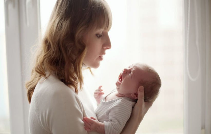 گریه در نوزادان