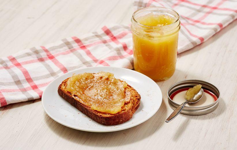 طرز تهیهی مربا سیب زرد