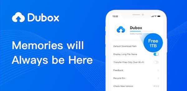 dubox- گوگل فوتوز