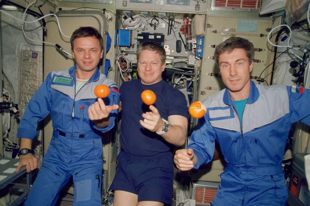 فضانوردان مأموریت اعزام 1