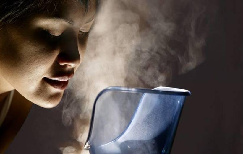 برای پاکسازی ریه بخار درمانی را امتحان کنید