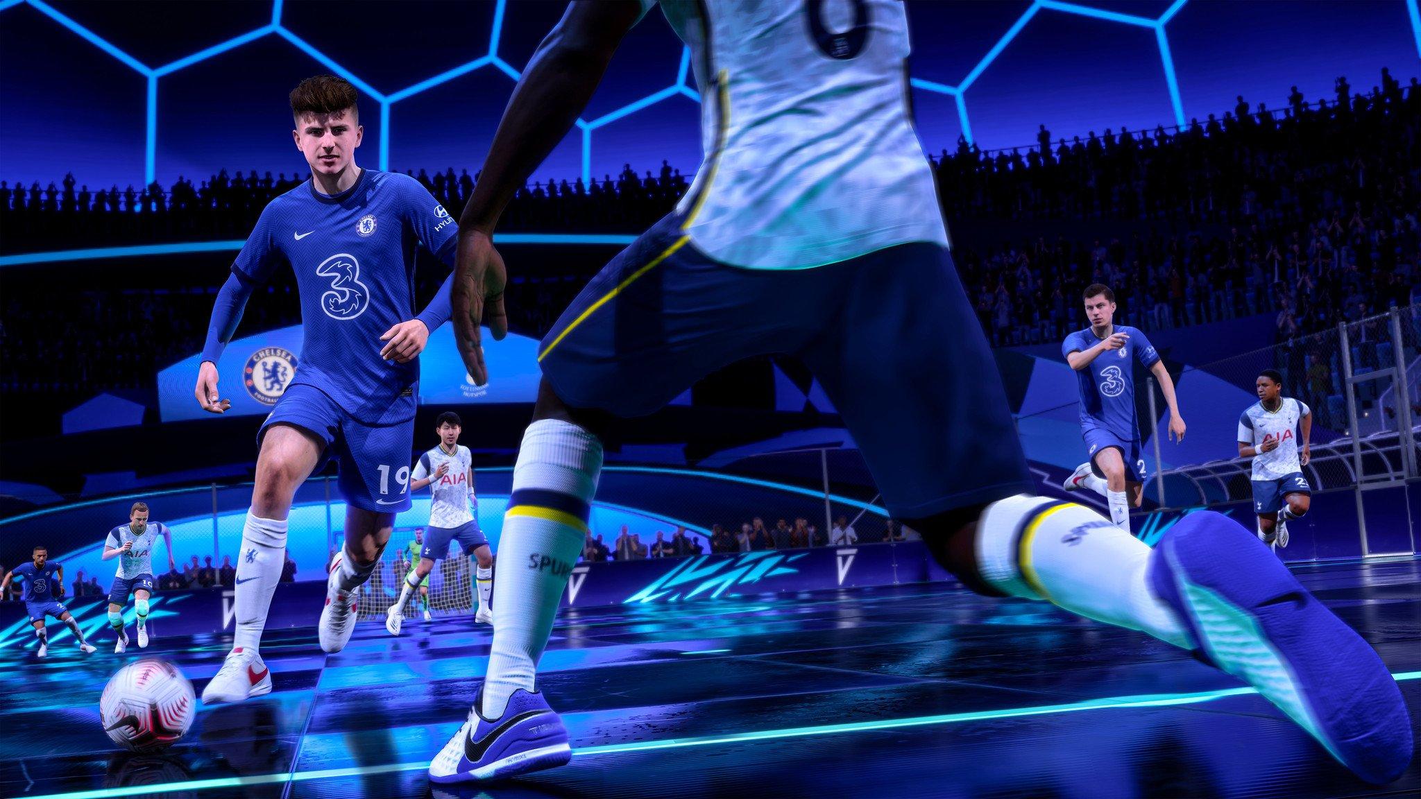 نسخهی پلیاستیشن 5 بازی فیفا ۲۱
