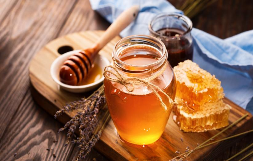 شیشه عسل طبیعی