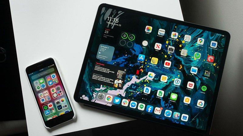 آیپد و آیفون دارای سیستم عامل iOS 14.2