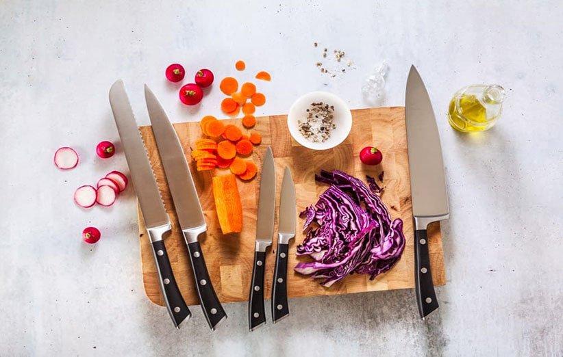 انواع چاقوهای آشپزخانه و کاربردهای آنها
