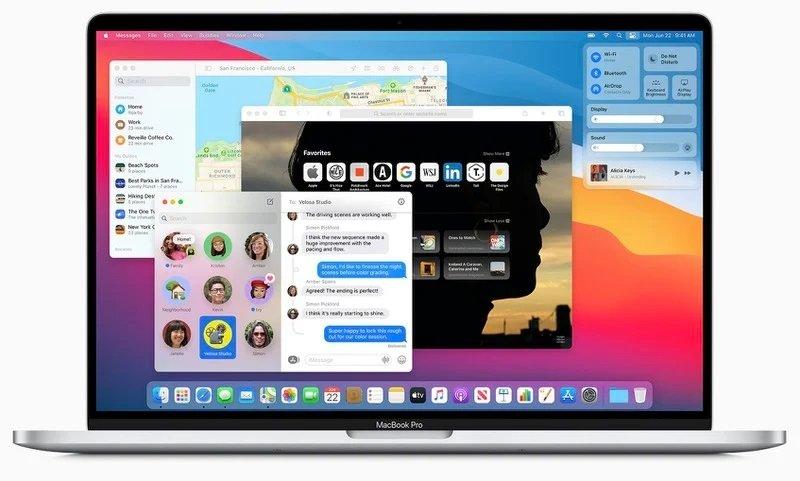 سیستم عامل macOS Big Sur