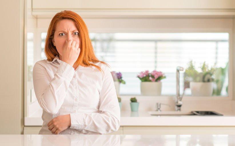 از بین بردن بوی بد در خانه