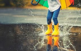 عکاسی در روز بارانی