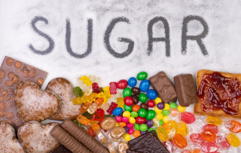 قند و کربوهیدرات تصفیه شده مضر در رژیم غذایی برای آرتروز