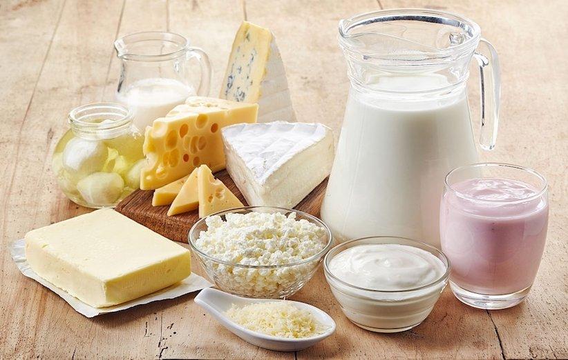 تغذیه مادر شیرده - لبنیات