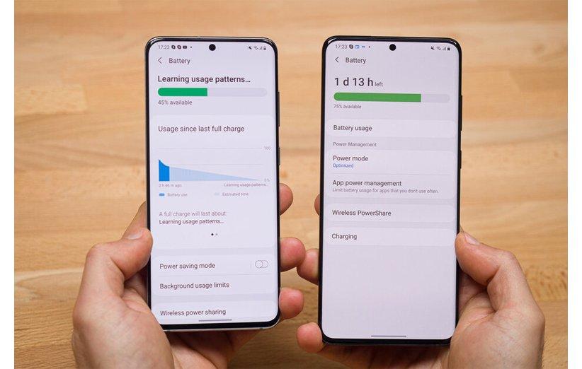 رابط کاربری One UI 3.0 در مقایسه با One UI 2.5