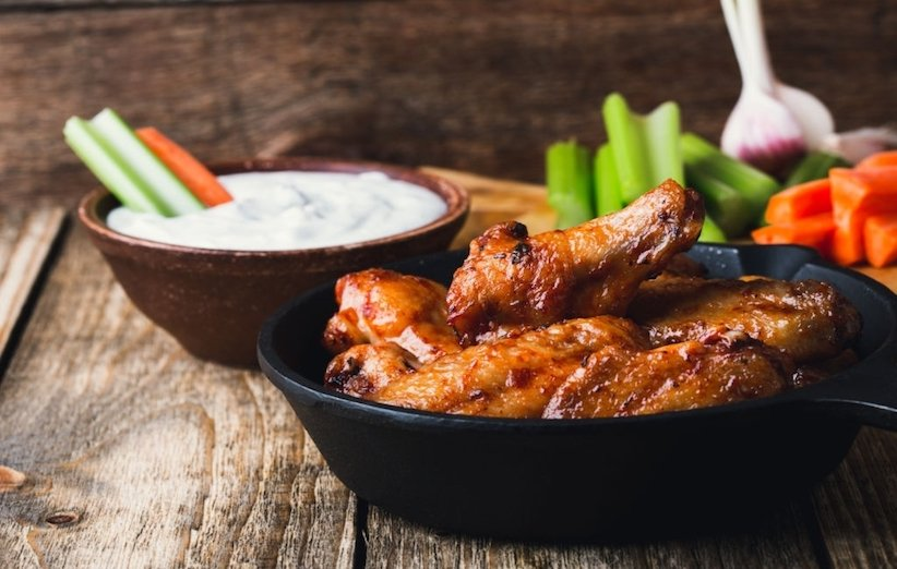 تغذیه مادر شیرده - مرغ سوخاری