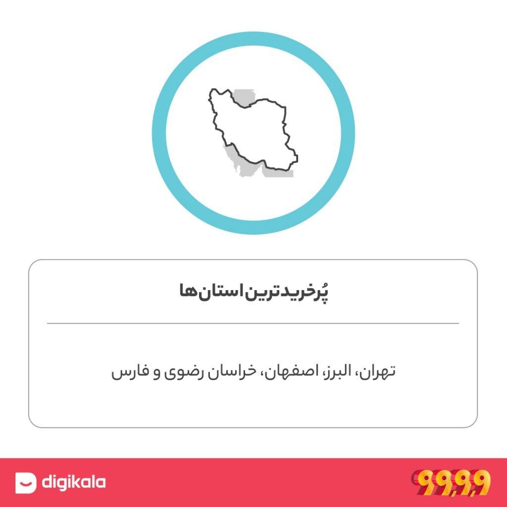 استانهای ایران در جشنواره 9999 دیجیکالا