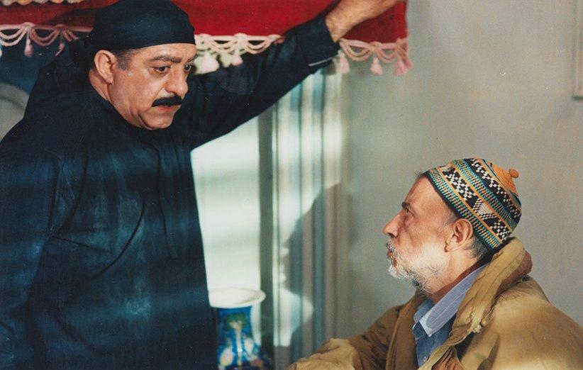 علی حاتمی در پشت صحنهی فیلم