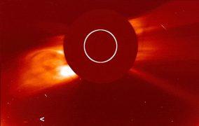 تصویر سوهو از دنبالهدار تازه کشف شده در روز خورشید گرفتگی اخیر آمریکای جنوبی