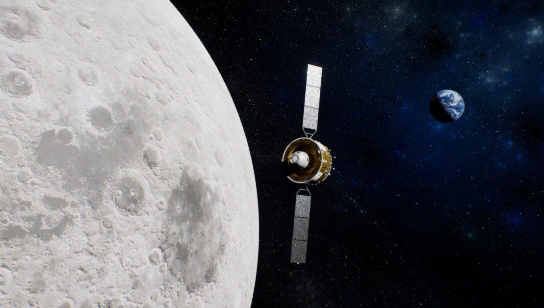 چانگای 5 در مدار ماه