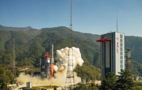 پرتاب ماهوارهی گائوفن-14 چین توسط موشک Long March 3B