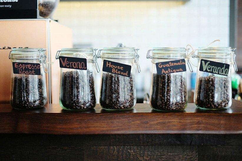 شیشههای قهوه