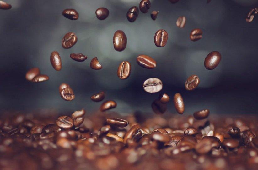 دانههای قهوه