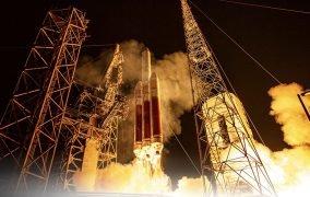 پرتاب ماهوارهی NROL-44 با موشک سنگین دلتا 4 هوی