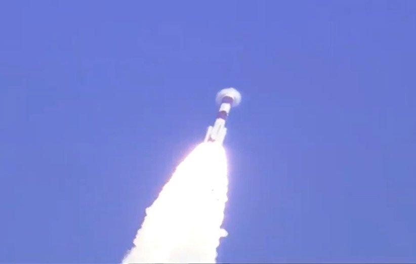 پرتاب ماهوارهی CMS-01 هند